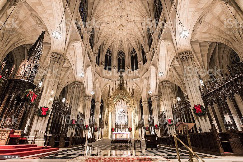 St Patrick/'s Cathedral Manhattan New York City Story of America carte photo