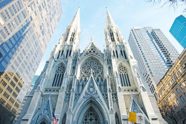 st patricks cathedral - katedral bildbanksfoton och bilder