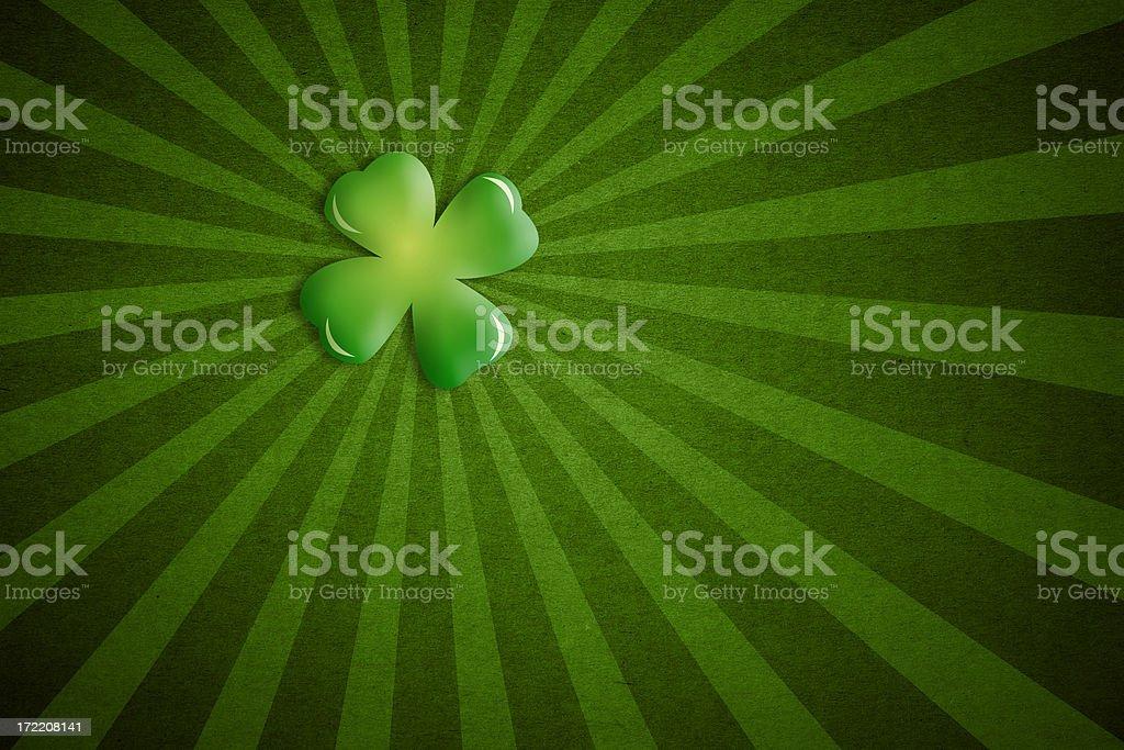 St. Patrick's Day Background royalty-free stock photo