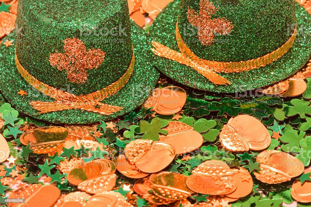 St Patrick's Day Background stock photo