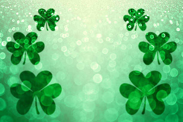 st patricks day background - st patricks days stock photos and pictures