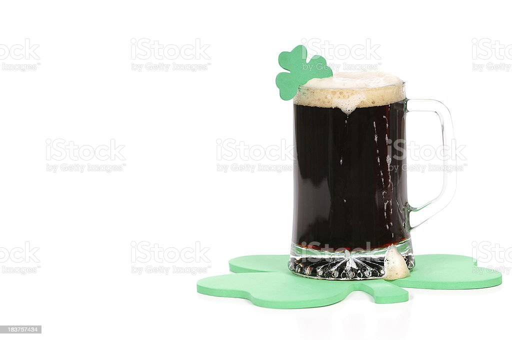 St. Patrick's Day Beer stock photo