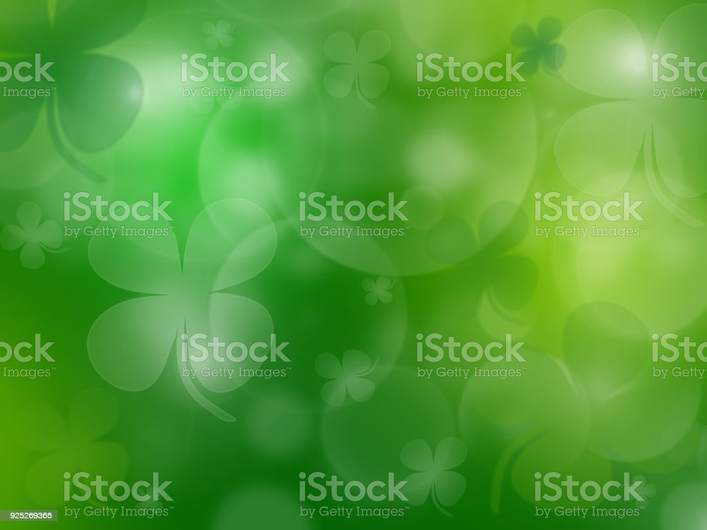 Tarjeta de felicitación de celebración de día de San Patricio - foto de stock