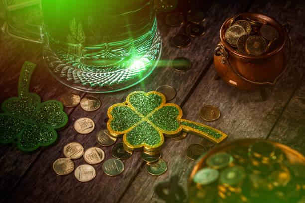 St Patrick's day concept stock photo