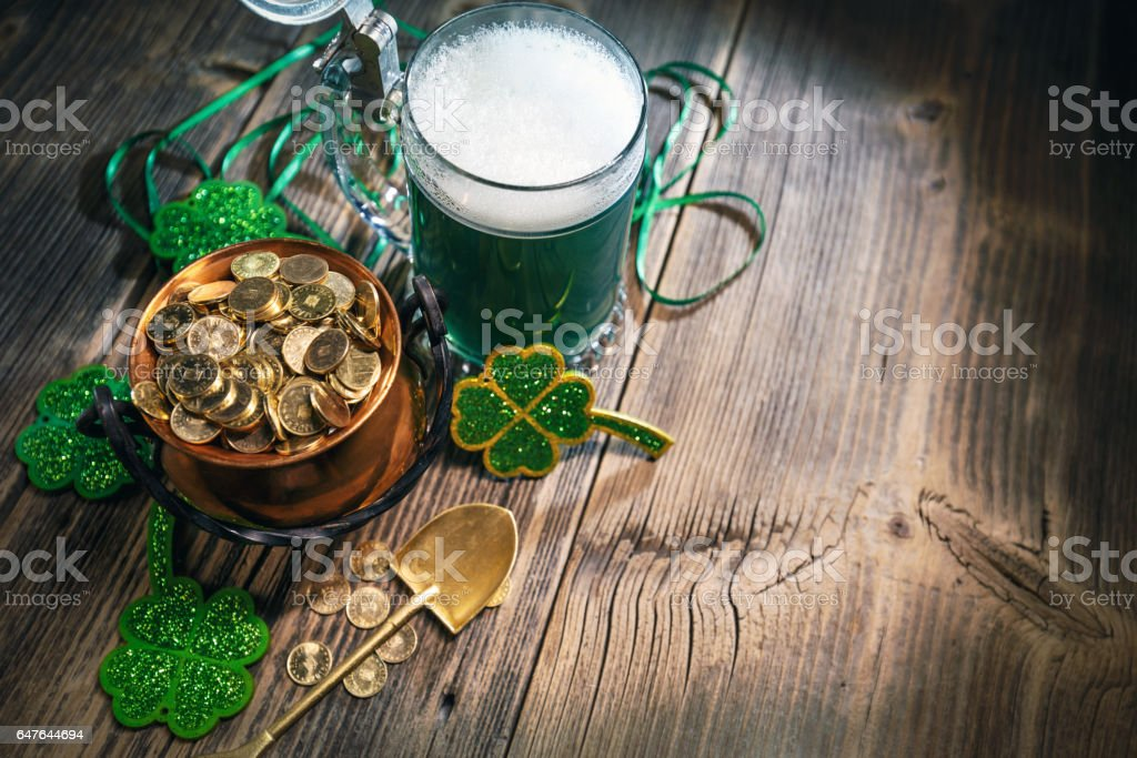 St. Patricks Day-Konzept – Foto