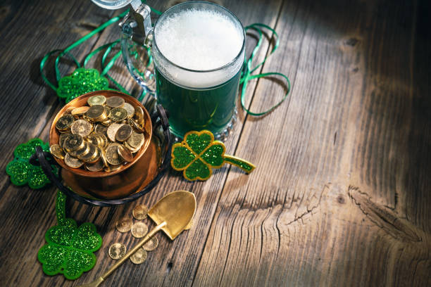 st. patricks day concept - st patricks day stock photos and pictures