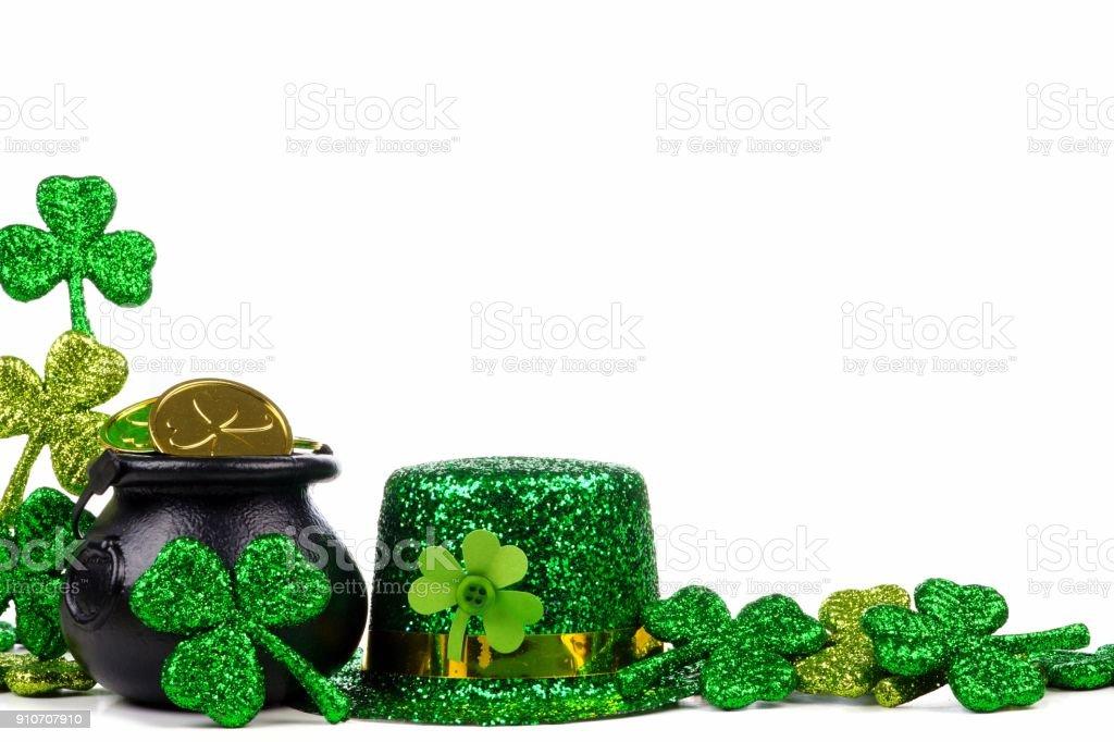 St Patricks Day Border stock illustration. Illustration of ... |St Patricks Border