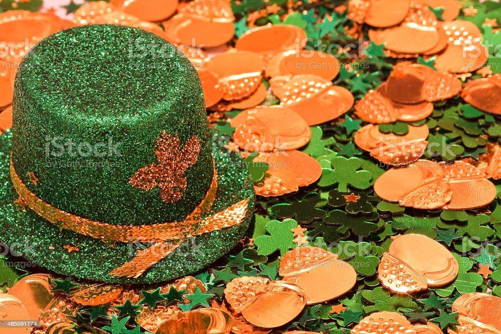 St Patrick's Day Decorations stock photo
