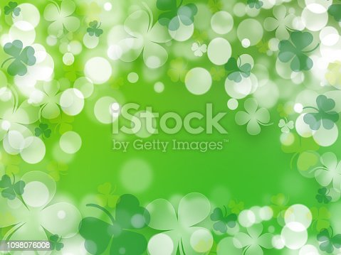 istock St. Patrick's Day, Green background by a St. Patrick's Day - Illustration 1098076008