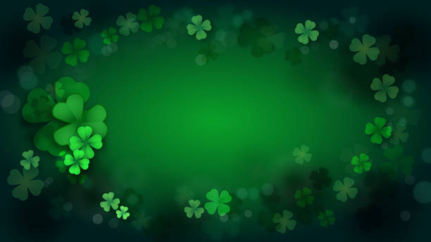 St. Patrick's Day, Green background by a St. Patrick's Day St. Patrick's Day, Green background by a St. Patrick's Day st patricks day stock pictures, royalty-free photos & images