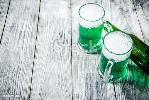 1124676977 istock photo St. Patrick's day green beer 1095952302