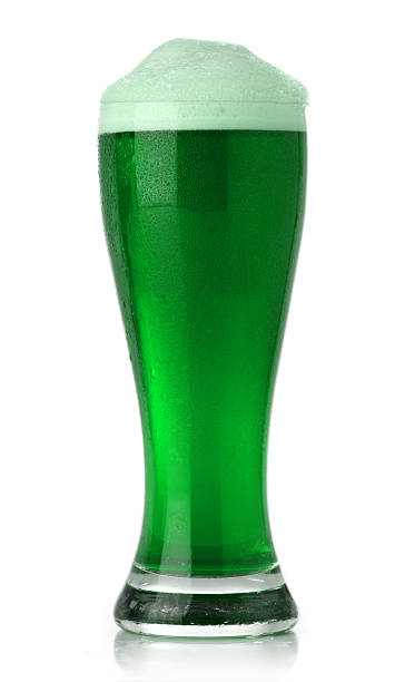 St. Patrick's Day green beer stock photo