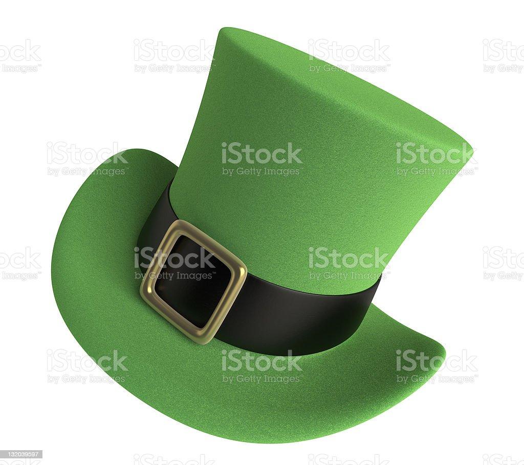 St Patricks Day Hat stock photo