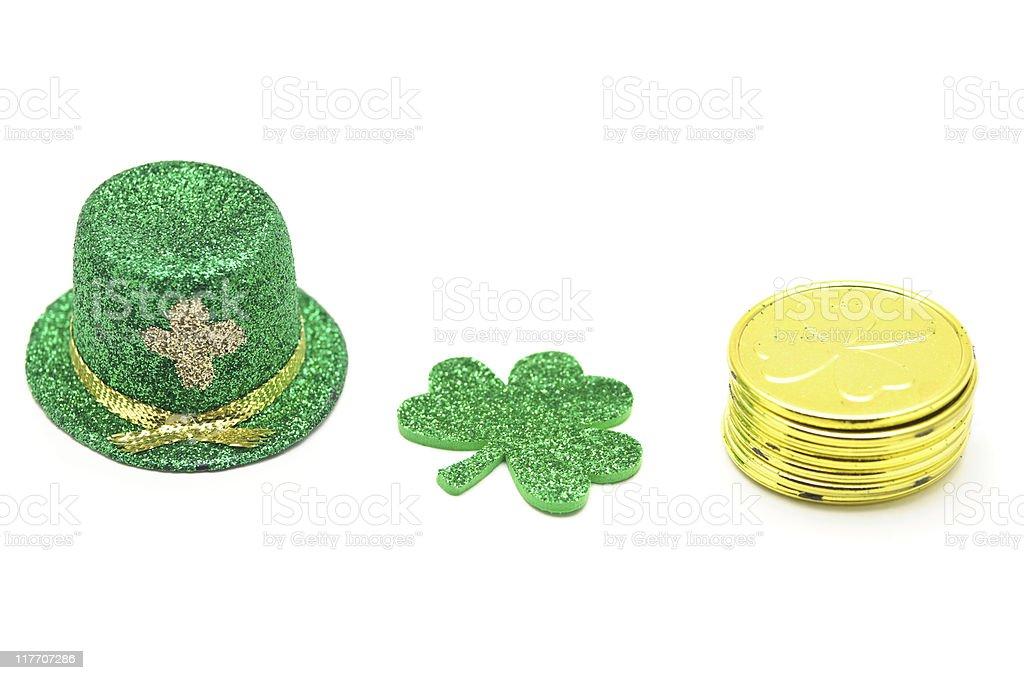 St. Patrick's Day Items stock photo