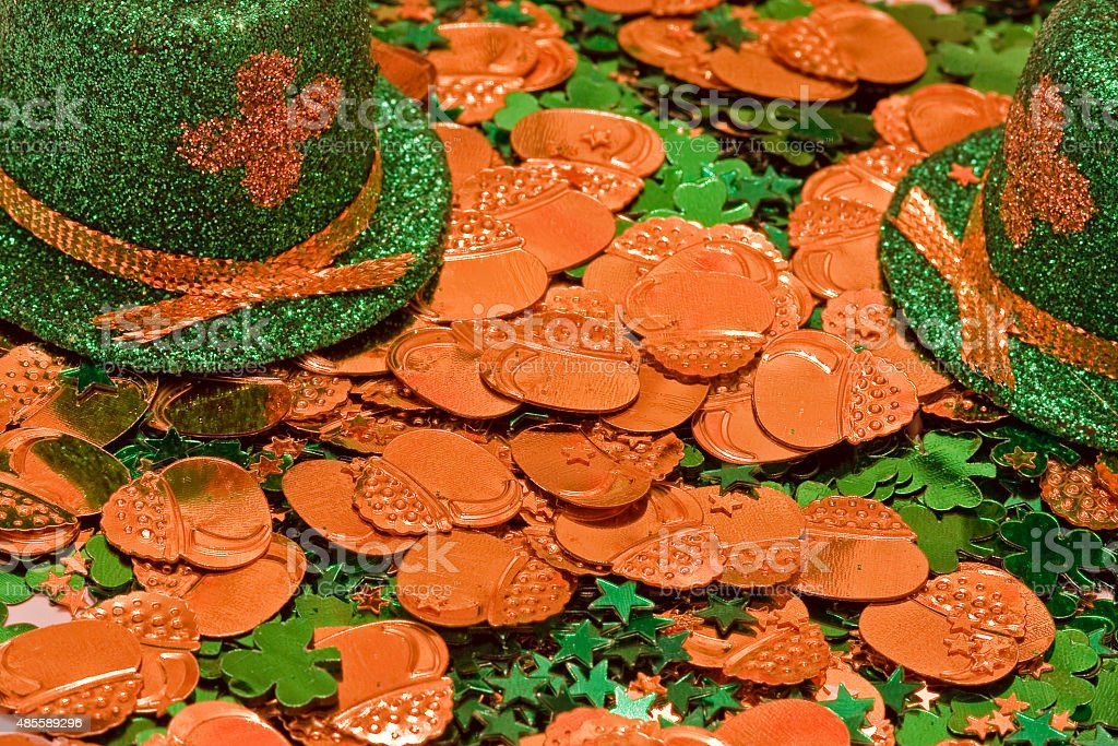 St Patrick's Day Leprechaun Hat stock photo