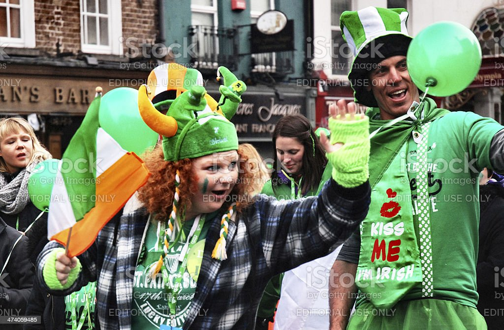 St. Patricks day Parade in Dublin – Foto