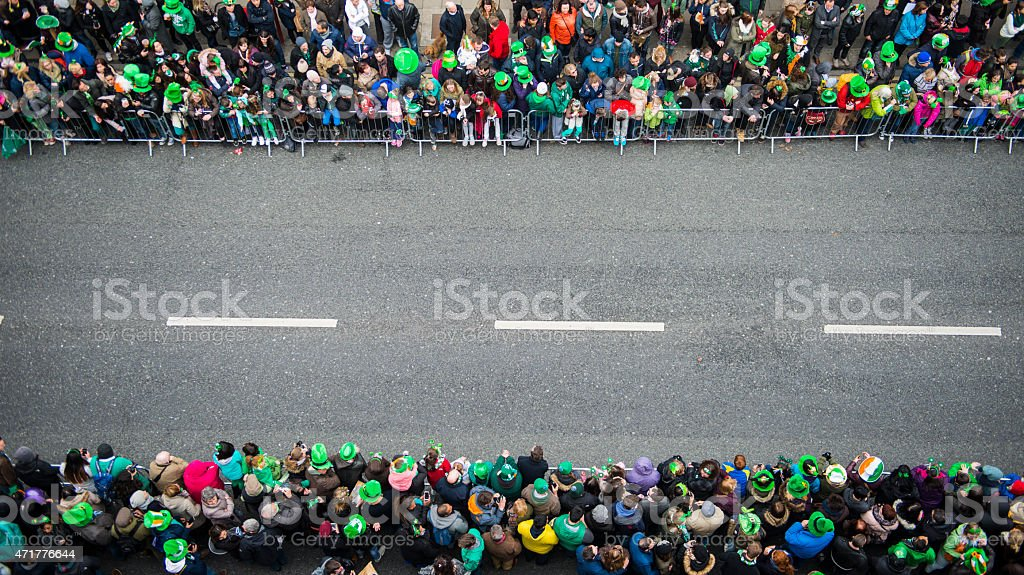 St. Patrick's Day Parade stock photo