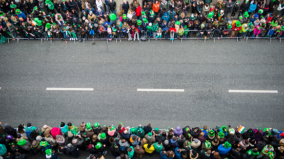 St Patricks Day Parade Stock Photo & More Pictures of 2015