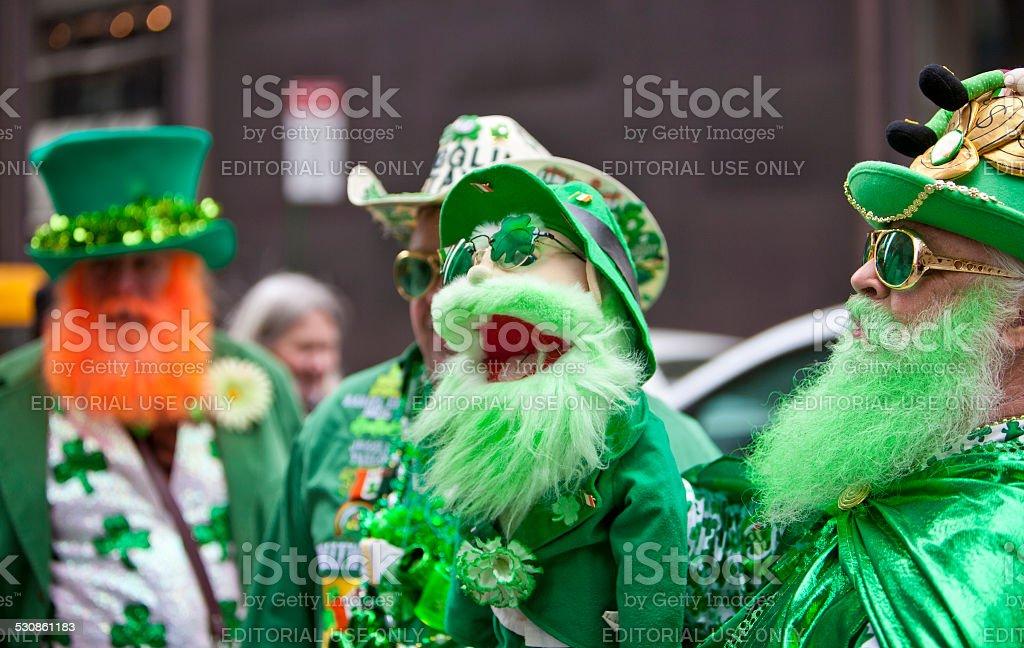 St Patrick's Day Parade stock photo