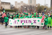 Indianapolis, indiana, USA - March 17, 2017, The St. Patrick\