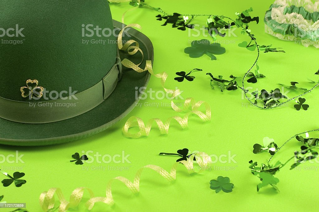 St. Patrick's Day Party stock photo