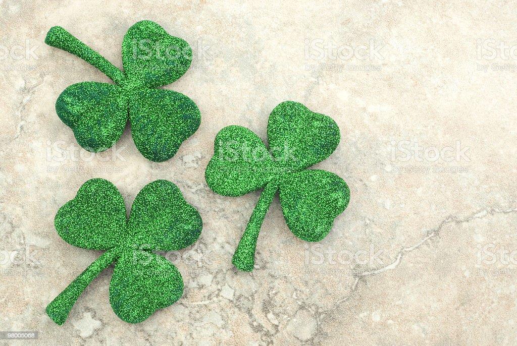 St Patricks Day Shamrocks royalty free stockfoto