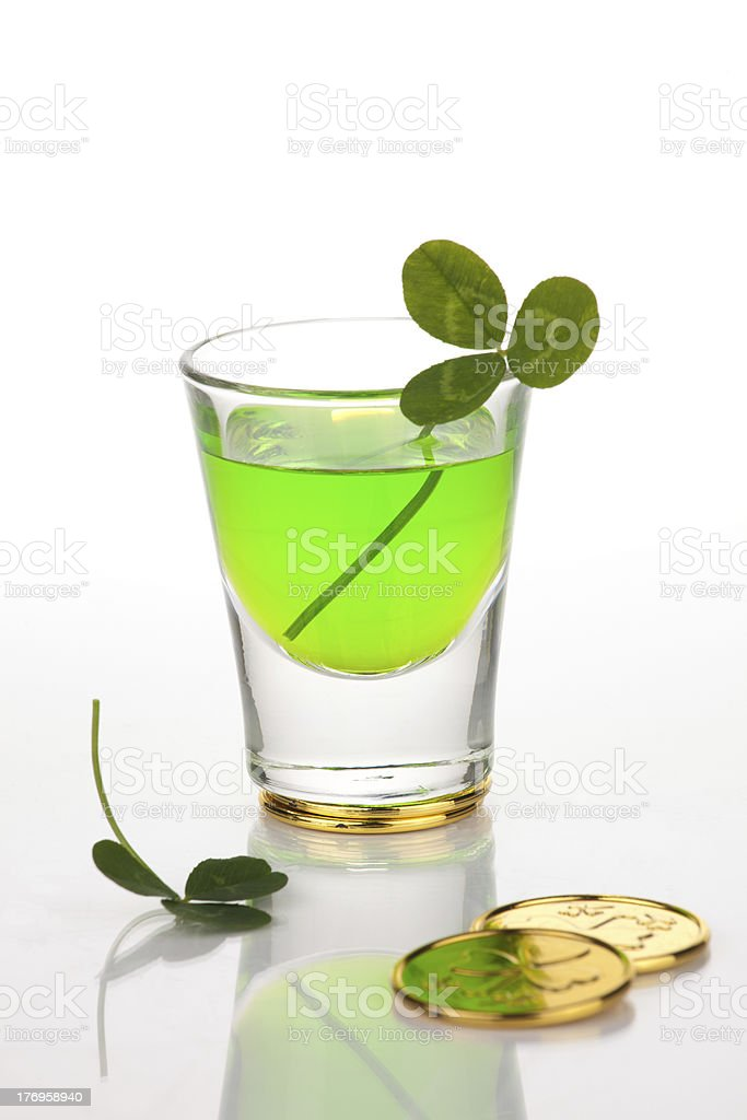 St Patrick's Day shot royalty-free stock photo