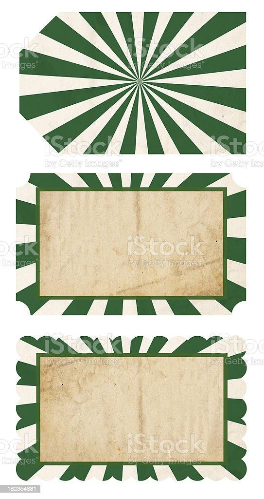 St. Patrick's Day Tags - XXXL stock photo