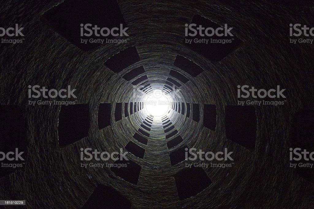 St. Patrick's well royalty-free stock photo