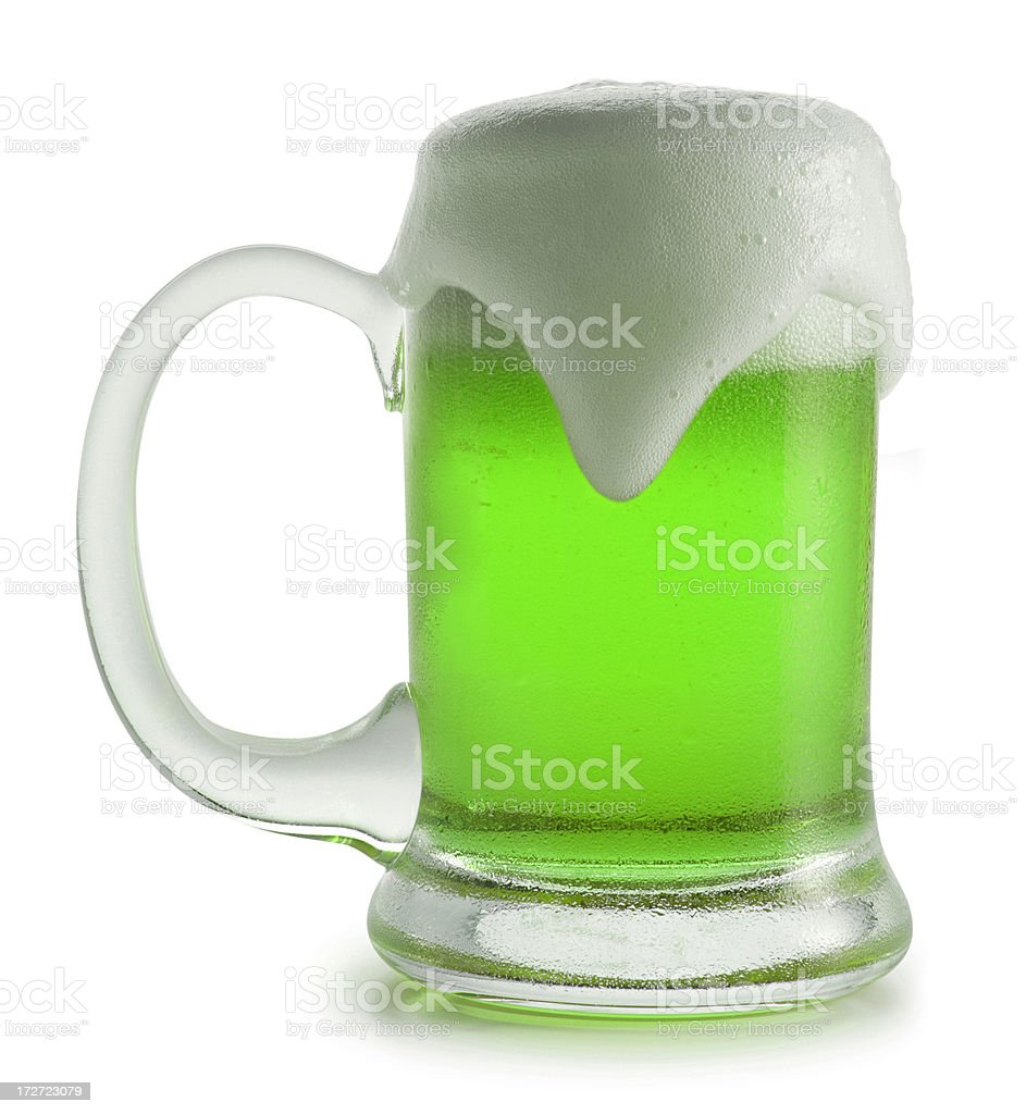 St. Patty's Day Beer royalty-free stock photo