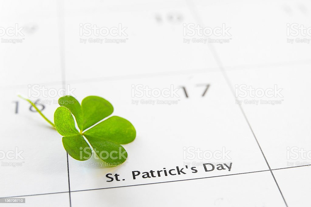 St Patty's Day stock photo