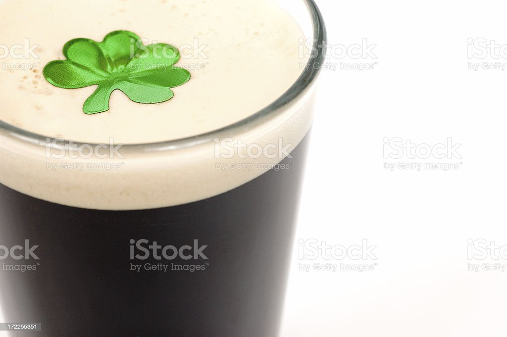 St Patty's Day Stout royalty-free stock photo