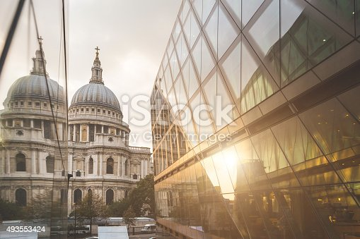 istock St Paul Cathedral in London 493553424