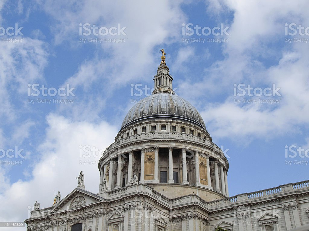 St Paul Cathedral London royalty-free stock photo
