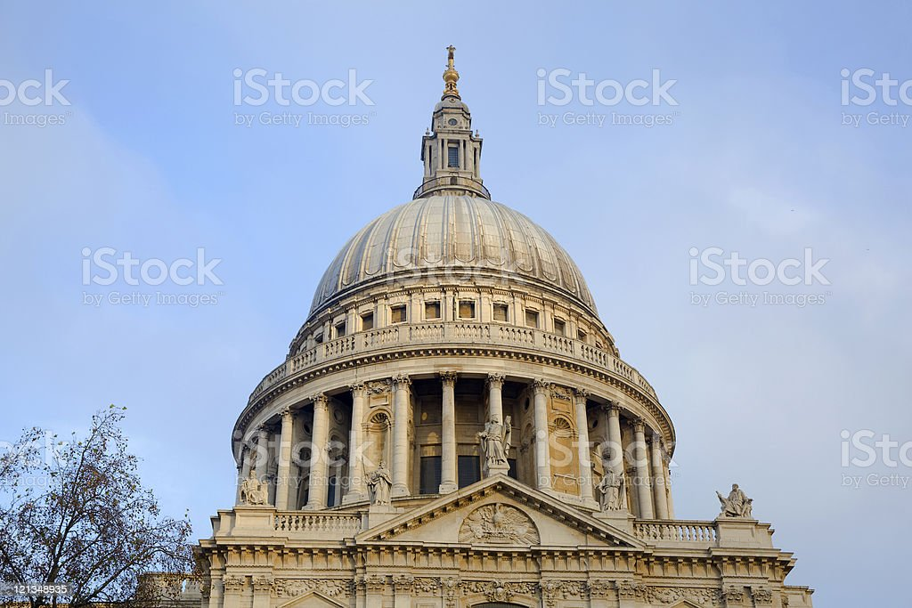 St Paul cathedral royalty-free stock photo
