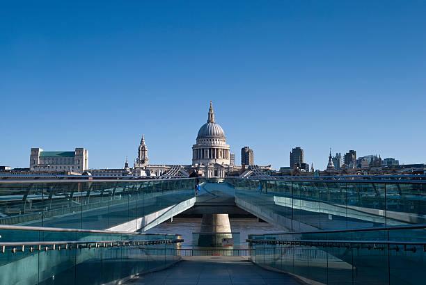 St Paul's Cathedral und die skyline von London, Sommer Morgen – Foto