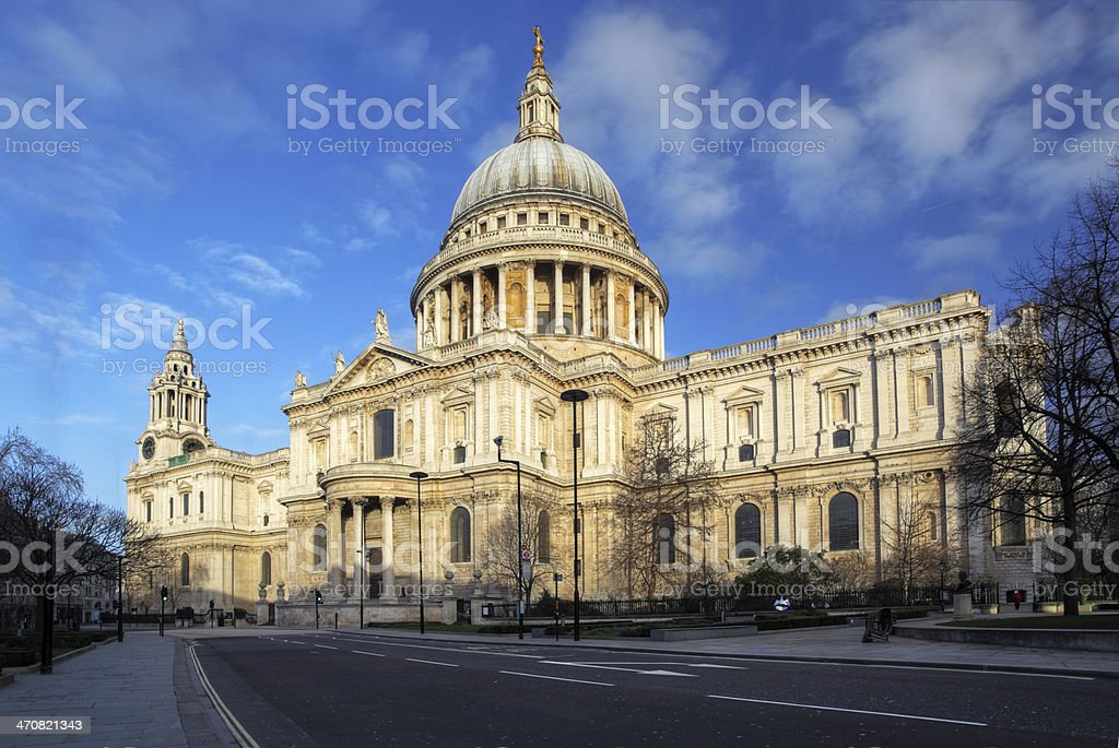 St Pauls Cathedral in London. royalty-free stock photo