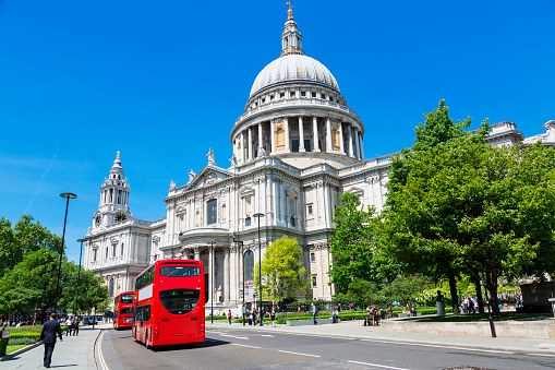 St Pauls Cathedral London Stock Photo - Download Image Now