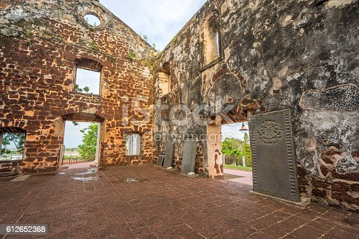 St. Paul's Church is a historic church building in Malacca, Malaysia that was originally built in 1521, making it the oldest church building in Malaysia and Southeast Asia