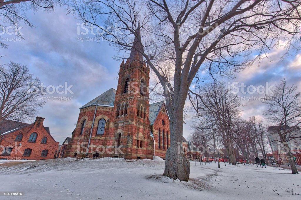 St. Paul's Church stock photo