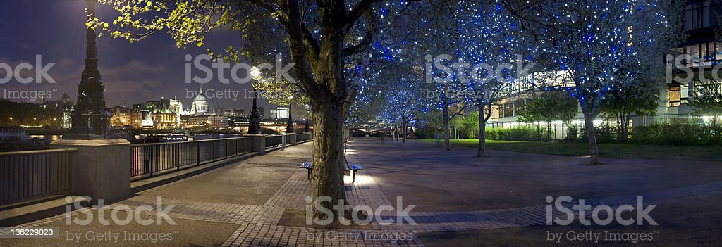 St Paul's from the South Bank, London royalty-free stock photo