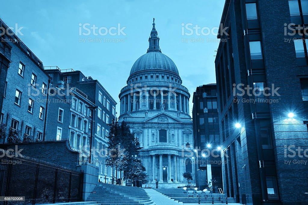 St Pauls London royalty-free stock photo