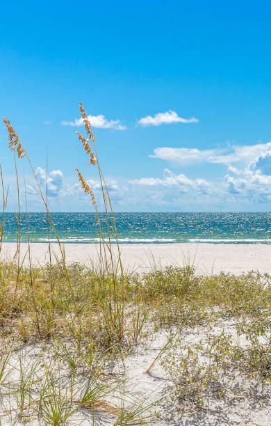St. Pete beach in Florida, USA stock photo