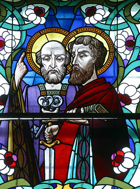 st. peter and st. paul - peter the apostle stock photos and pictures