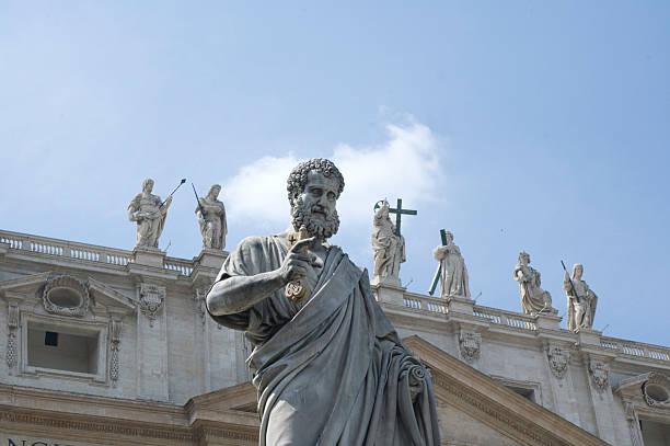 St. Peter in Vatican City stock photo