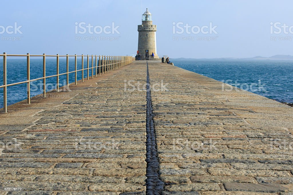 St Peter Port, Guernsey, Channel Islands stock photo