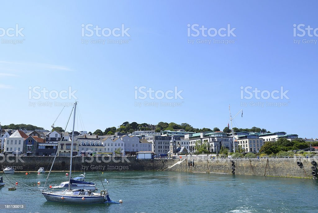 St Peter Port, Guernsey royalty-free stock photo