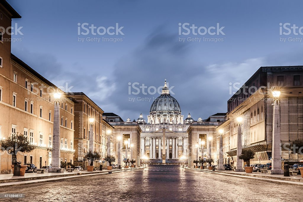 St Peter Rome stock photo