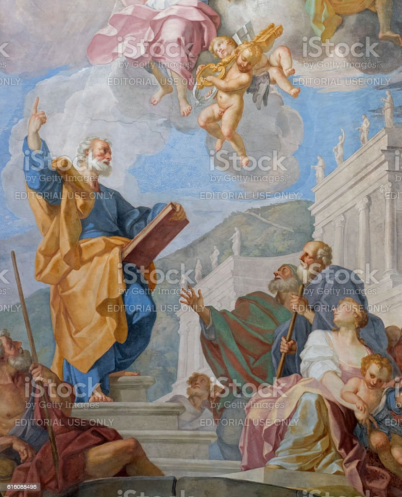 St. Peter - The Triumph Of The Christian Faith stock photo