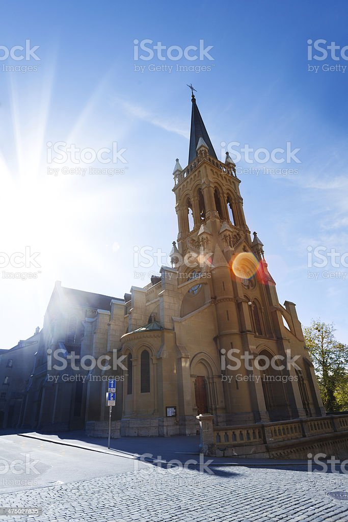 St. Peter und Paul church in Bern royalty-free stock photo